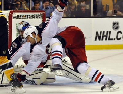 Clumsy Blue Jackets