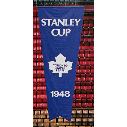 Maple Leafs banner