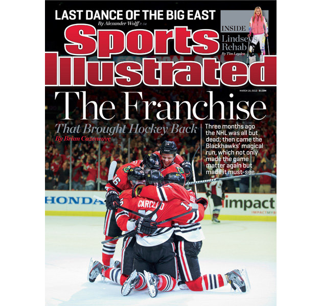 SI Blackhawks cover