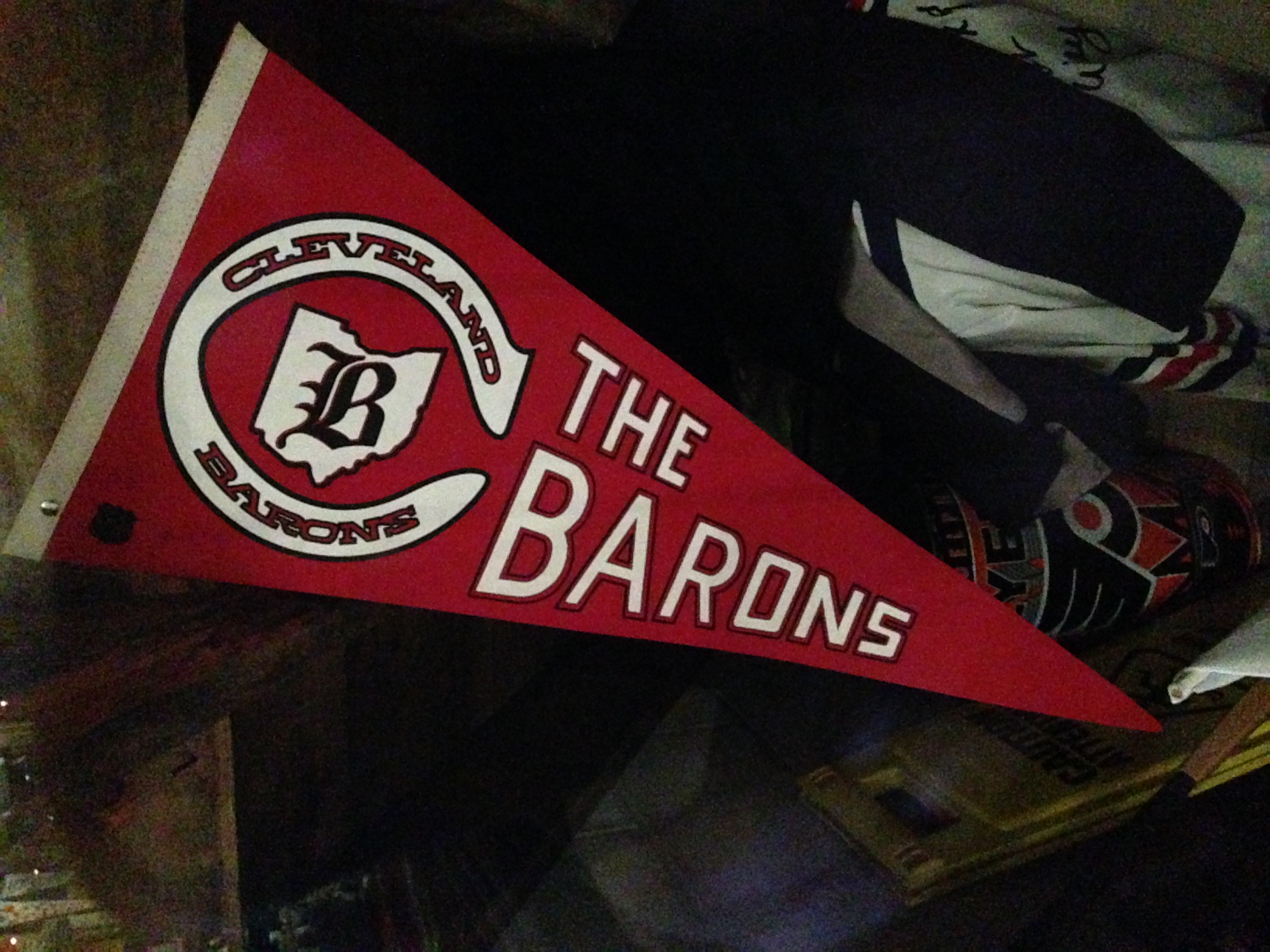 Cleveland Barons pennant