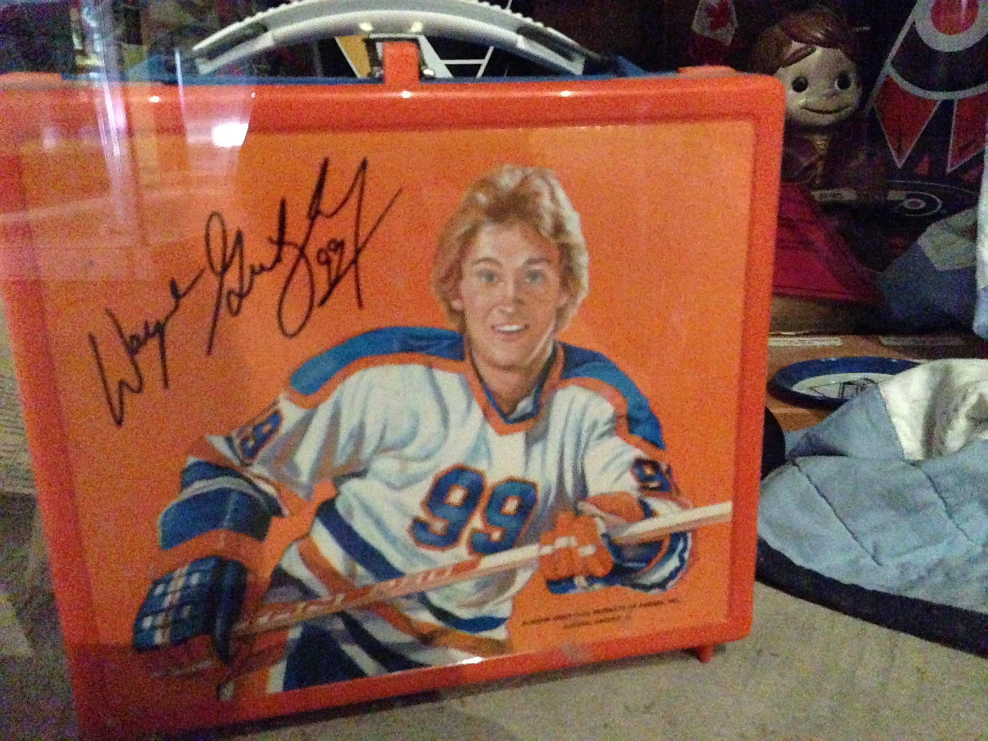 Wayne Gretzky lunchbox