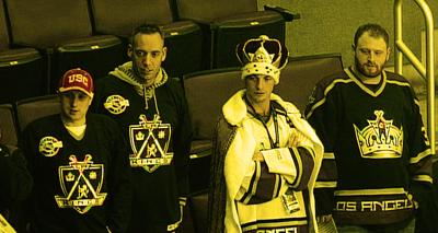 Los Angeles Kings fans