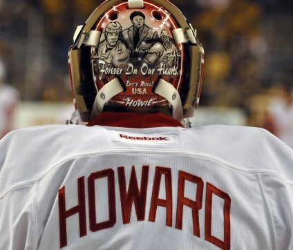 Jimmy Howard's mask