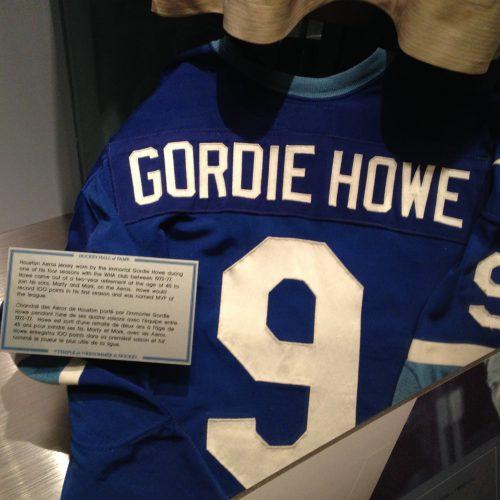 Gordie Howe jersey